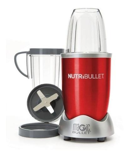 nutribullet magic bullet 600 w 8 accesorios rojo 101126