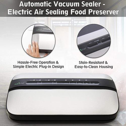 nutrichef automático handheld sellador del vacío de la má