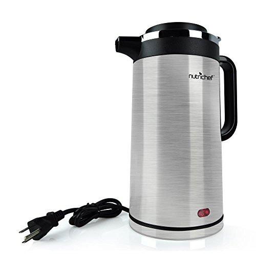 nutrichef  hervidor de agua eléctrico de 18 litros función