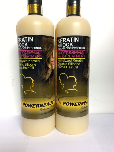 nutricion capilar keratin shock  powerbeuty 800ml original