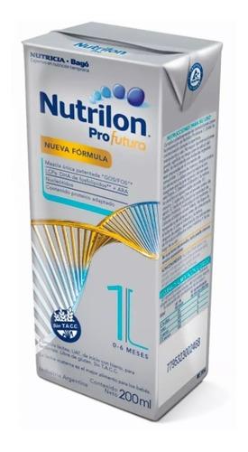 nutrilon profutura 1 formula lactea líquida 90 bricks 200ml