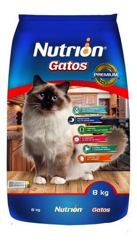 nutrion gatos x 8 kg - kg a $5086