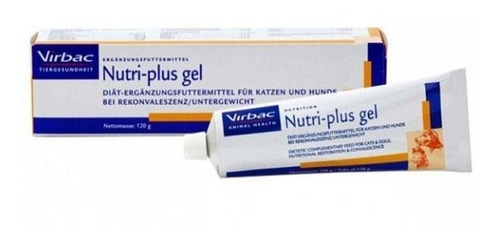 nutriplus gel 120gr virbac vitaminas para perros
