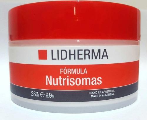 nutrisomas x 320 lidherma crema nutritiva facial hidratante