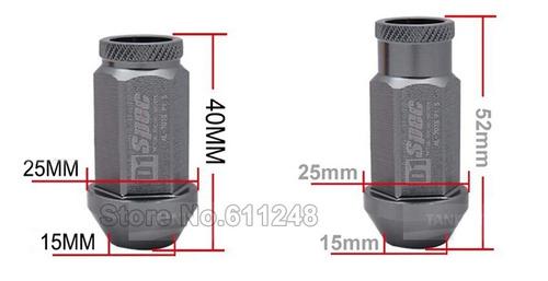 nuts de rodas d1 spec m12 1.5 corolla civic cruze