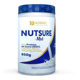 Nutsure Ensure Con Proteina De Suero Calostro Y Maca 850 Grs