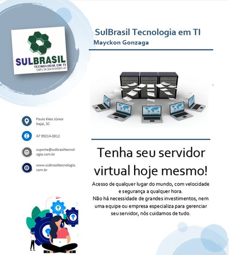 nuvem, servidor wts rdp, computador virtualizado, vm