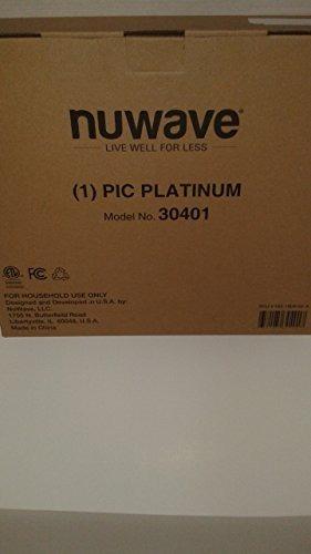 nuwave platinum 30401 placa de cocina de inducción de precis