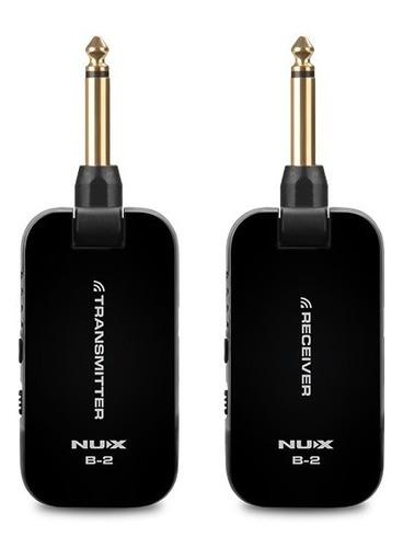 nux b2 inalámbrico para guitarra bajo