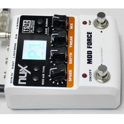 nux mod force chorus phaser tremolo flanger (infusiontienda)