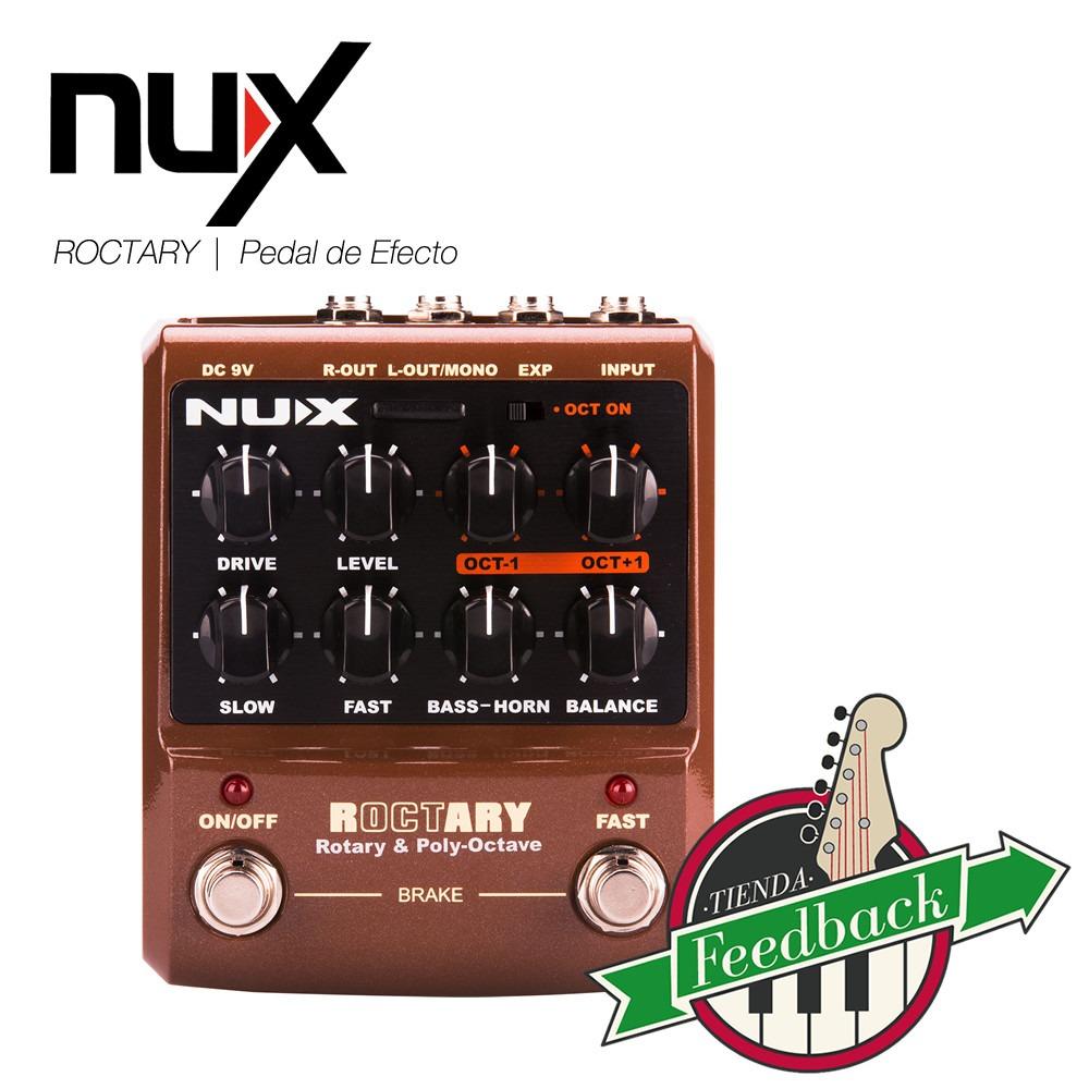 /Pedal de efecto NUX roctary/