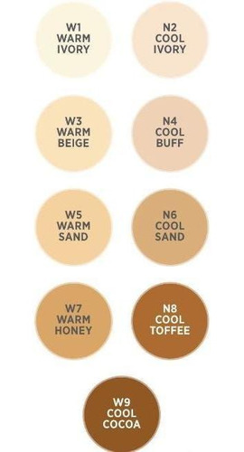 nv be the envy bb perfecting mist foundation w5 warm sand