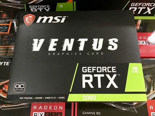 nvidia geforce msi rtx 2060 oc ventus xs 6gb dual fan