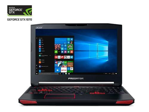 nvidia laptop acer g9-593 geforce gtx 1070 8g / i7-7700hq