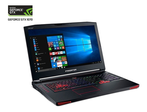 nvidia laptop acer predator g9-793 geforce gtx 1070 8g