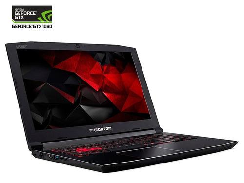 nvidia laptop acer predator helios 7428 gtx 1060/i7-8750h