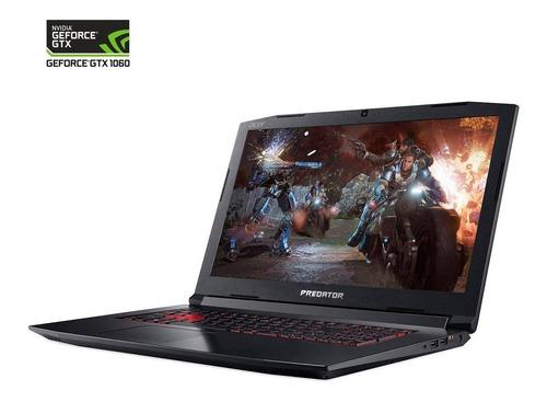 nvidia laptop acer predator helios76au gtx 1060 6g /i7-8750h