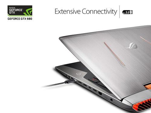 nvidia laptop asus rog g701v0 geforce gtx980m 8g / i7-6820hk