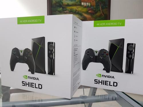 nvidia shield tv 16 gb 4k 2017 + hdr- android tv