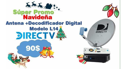 nvo decodificador digital directv l14 prepago