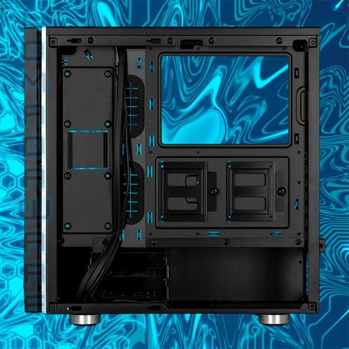 nw case gamer corsair spec 06 rgb vidrio templado usb 3.0