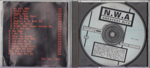 n.w.a. greatest hits. cd original usado a4