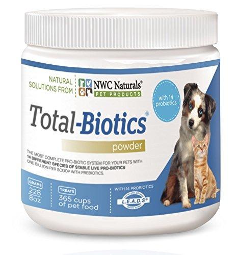 nwc naturals - total -biotics- los probióticos para perros - $ 3.498