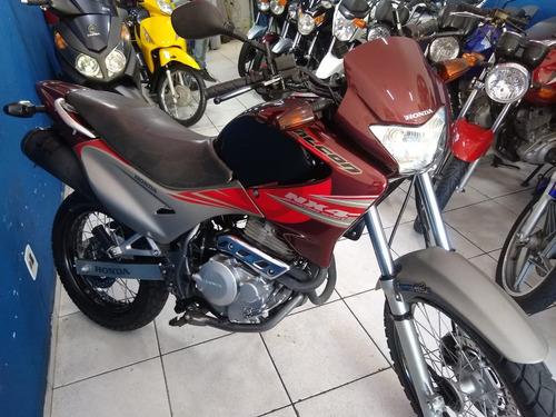 nx 400 falcon 2008 linda 12 x 850 ent. 3.000 rainha motos