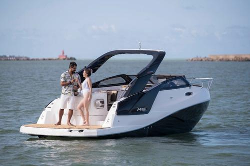 nx260 2020 nxboats coral real focker ventura fs  lancha nhd