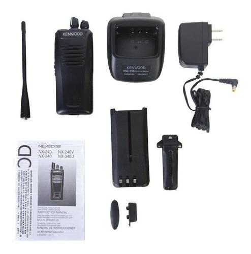 nx340k 450-520 mhz, 5 w, 32 canales (programado)