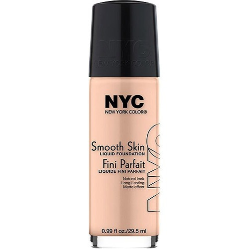 nyc new york color base líquida de piel lisa,.99 fl oz