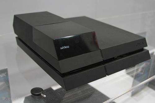 nyko data bank sony playstation 4 ps4 bahía para disco mayor