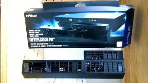 nyko intercooler refrigeración fan sony playstation 4 ps4