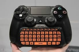 nyko type pad teclado qwerty control sony playstation 4 ps4
