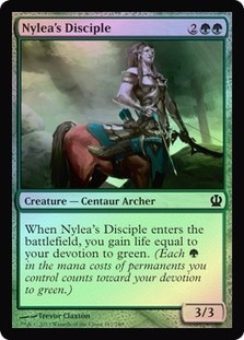 nylea's disciple theros (foil)