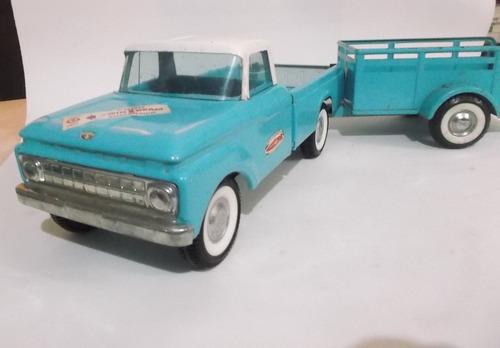 nylint toys camioneta y remolque camper special no tonka 109