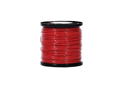 nylon bobina 10lb 3,3mm redo-rojo 463mts