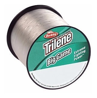 nylon  trilene big game 1/4 lb custom spools steel b berkley