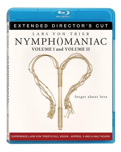 nymphomaniac directors cut vol 1 y 2 pelicula blu-ray