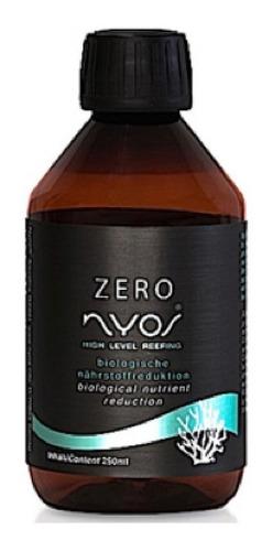 nyos zero 250ml redutor de nitrato e fosfato aquário marinho