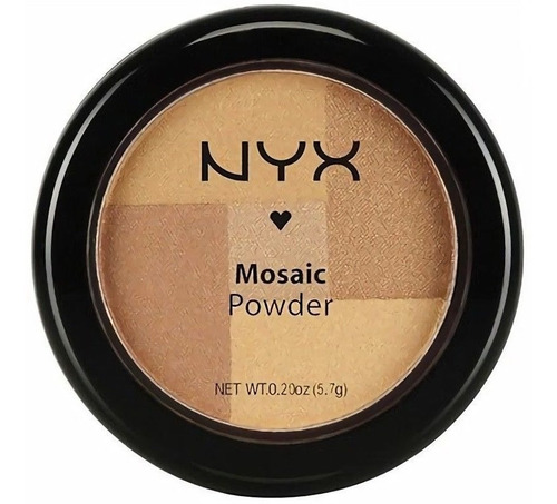 nyx mosaic powder blush rubor compacto e.gratis cuotas s/int