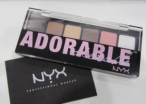 nyx paleta de sombras adorable original