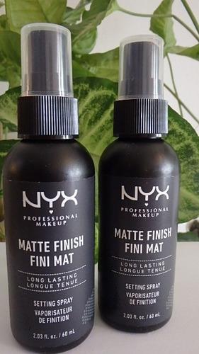 nyx  spray de maquillaje profesional, acabado mate
