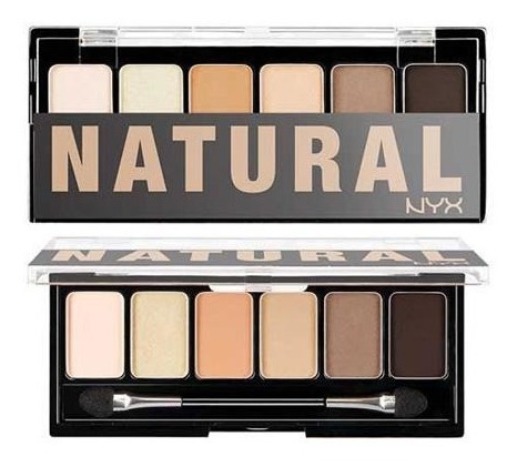 nyx - the natural shadow palette
