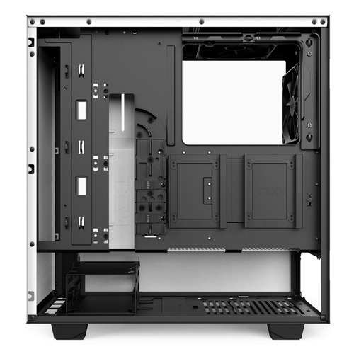 nzxt h500i - compact atx mid-tower pc gaming case - rgb