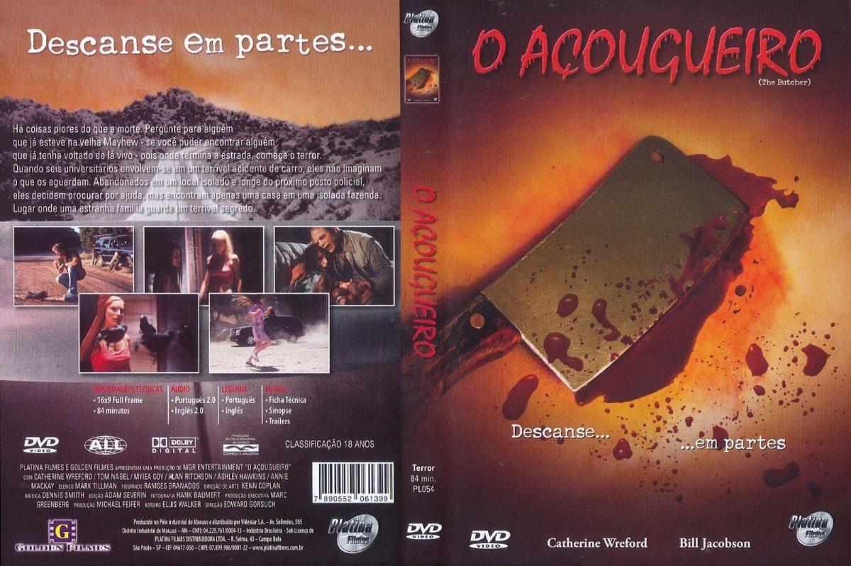 O Acougueiro Descanse Em Partes Dvd Original Novo Lacrado - R$ 49 ...