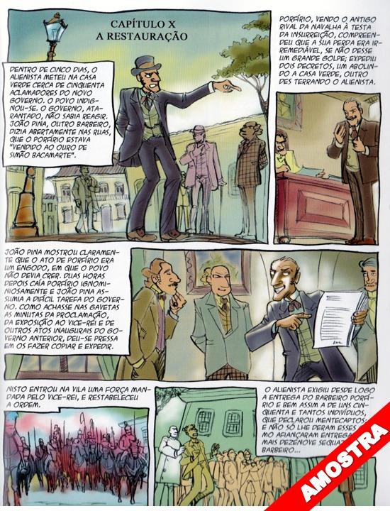 O Alienista - Literatura Brasileira Em Quadrinhos - Hq - R