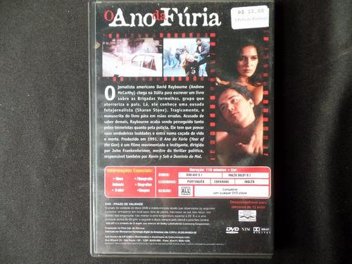 o ano da fúria - dvd