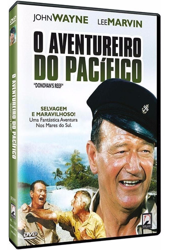 o aventureiro do pacífico - dvd - john wayne - lee marvin