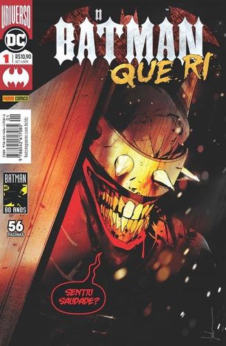 o batman que ri: universo dc - 1 - sentiu saudade?